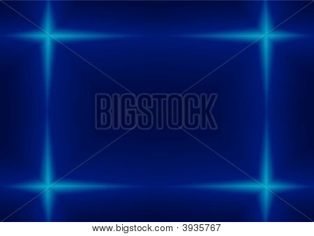 Rectangle On A Blue.Eps