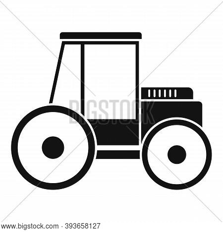 Paving Road Roller Icon. Simple Illustration Of Paving Road Roller Vector Icon For Web Design Isolat