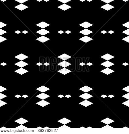 Seamless Pattern.ethnic Motif. Rhombuses Ornament. Diamonds Backdrop. Lozenges Wallpaper. Geometric