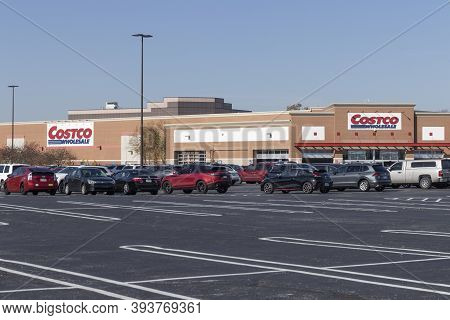 Indianapolis - Circa November 2020: Costco Wholesale Location. Costco Wholesale Is A Multi-billion D
