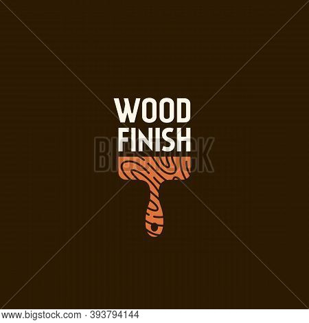 Logo Design Template For Wood Finishing Service, Wood Shop, Carpentry, Woodworkers, Wood Working Ind