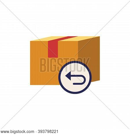 Purchase Returns Icon. Simple Element From E-commerce Collection. Creative Purchase Returns Icon For