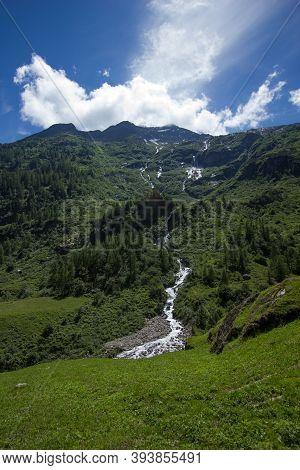 River At The Alpine Pass Susten (sustenpass)