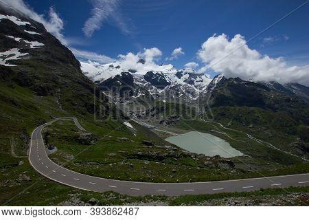 Lake At The Alpine Pass Susten (sustenpass)