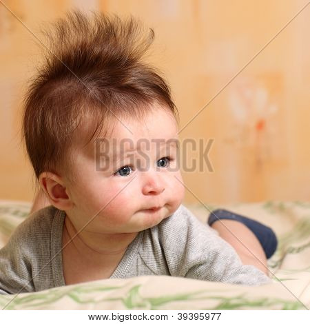 Mohawk Hairstyle For Baby