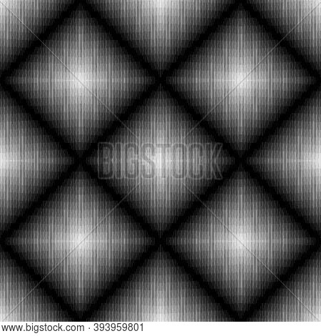 Lines Seamless Pattern. Stripes Ornate. Striped Image. Lined Background. Linear Ornament. Abstract W