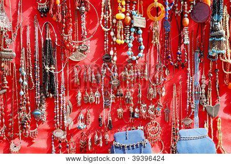 Colorful handmade jewelery