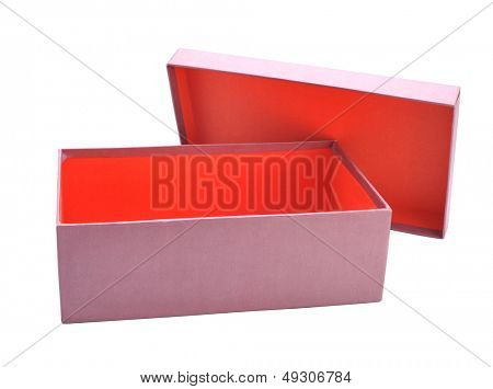 Red gift boxes,