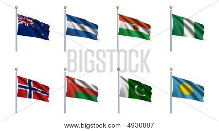 World Flag Set 17