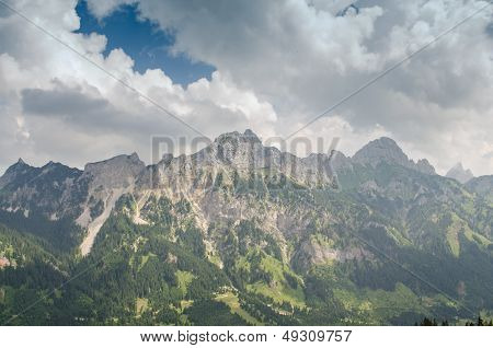 Mountains Gimpfel And Rote Fl�h In Tirol Austria