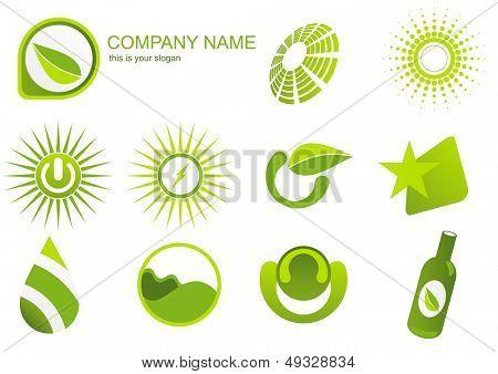 grüne Energie-logo