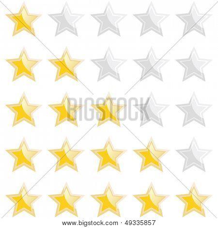 modern rating star