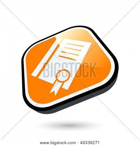 modern certificate sign