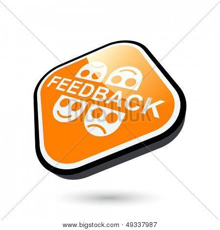 modern feedback sign