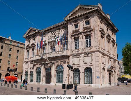 The Marseille Cityhall