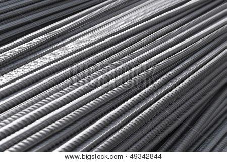 bars of reinforced steel