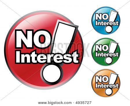 No Interest Icon Sale Set