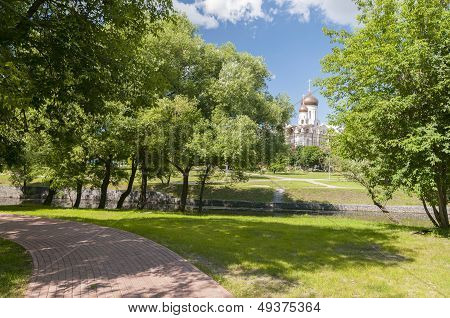 View On Church In The Park