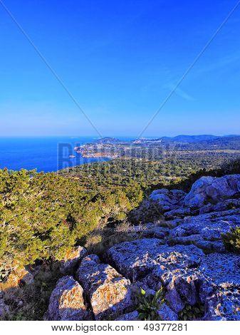 Cala D'hort On Ibiza