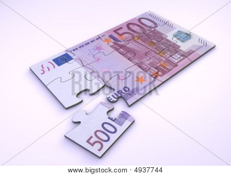 500 Euro Note Puzzle