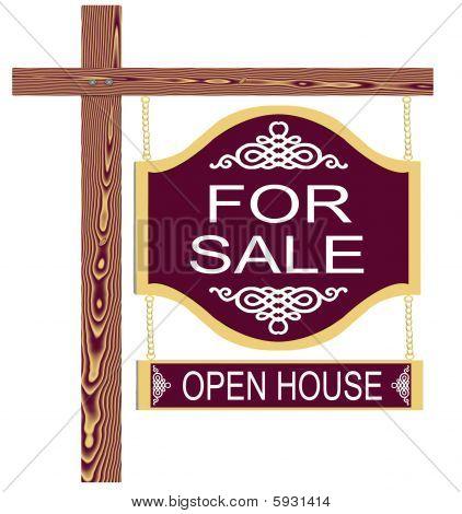 Fancy For Sale Sign Open