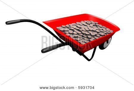 Money Wheelbarrow