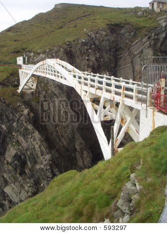 Mizen Head Bridge Spanning Cliffs