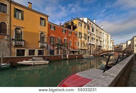 Venetian Colors Of Dorsoduro