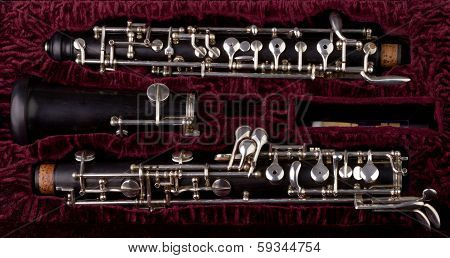 Oboe With Case