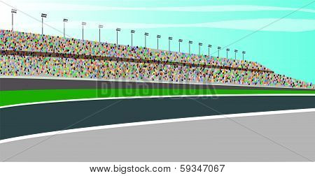Race Track Stands