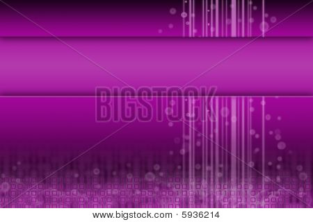 Purple futuristic digital design with room for title or content Cats: abstracts, backgrounds, art-il