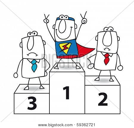 Number one ....And the winner is... Super businessman !