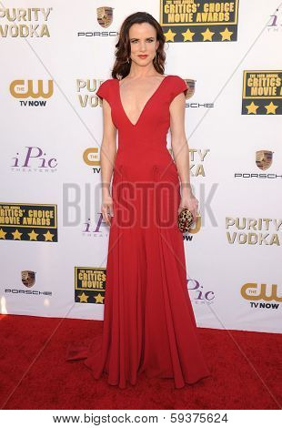 LOS ANGELES - JAN 16:  Juliette Lewis arrives to the Critics' Choice Movie Awards 2014  on January 16, 2014 in Santa Monica, CA