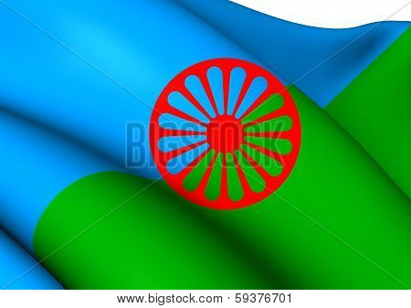 Romani People Flag