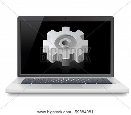 Laptop And Gear