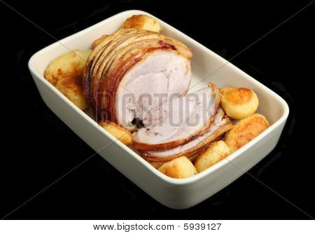 Roast Pork & Potatoes