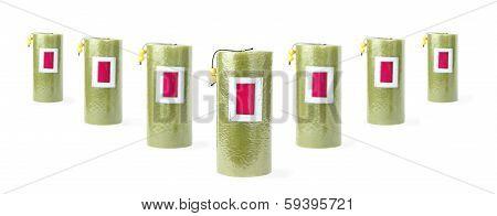 Seven Green Candles