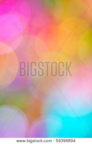 Colorful Bokeh