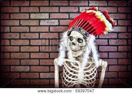 Native American Skeleton
