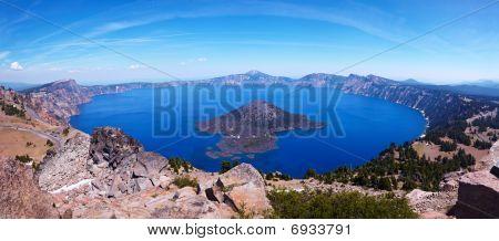 Crater Lake 45 megapixel Panorama