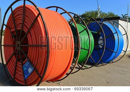 Plastic Conduit on Reels