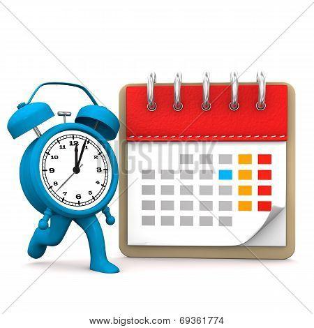 Runnung Alarmer Calendar