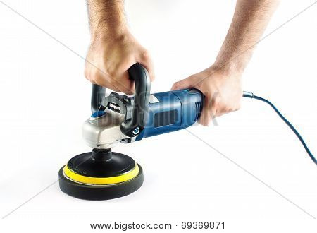 Car polishing machine