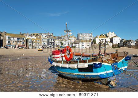 Fishing Boat At St Ives