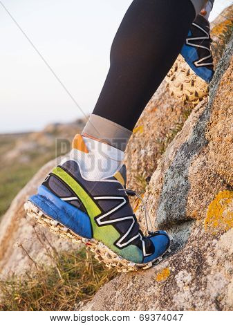 Extreme Sports Shoes For Trail Running Practice