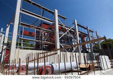 Cogeneration Plant Construction Process