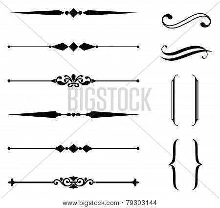 Rule Line and Ornament Set