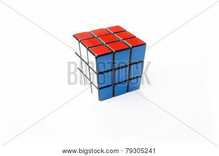 Solved Rubik's Cube