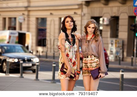 Two Women Fashion Street