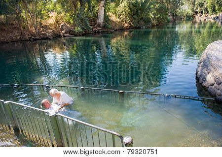 Baptized In Jordan River